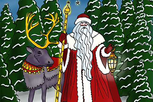 Coloring Pages and freebies Santa Claus
