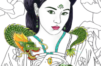 colorpini – Chinese dragon Princesses